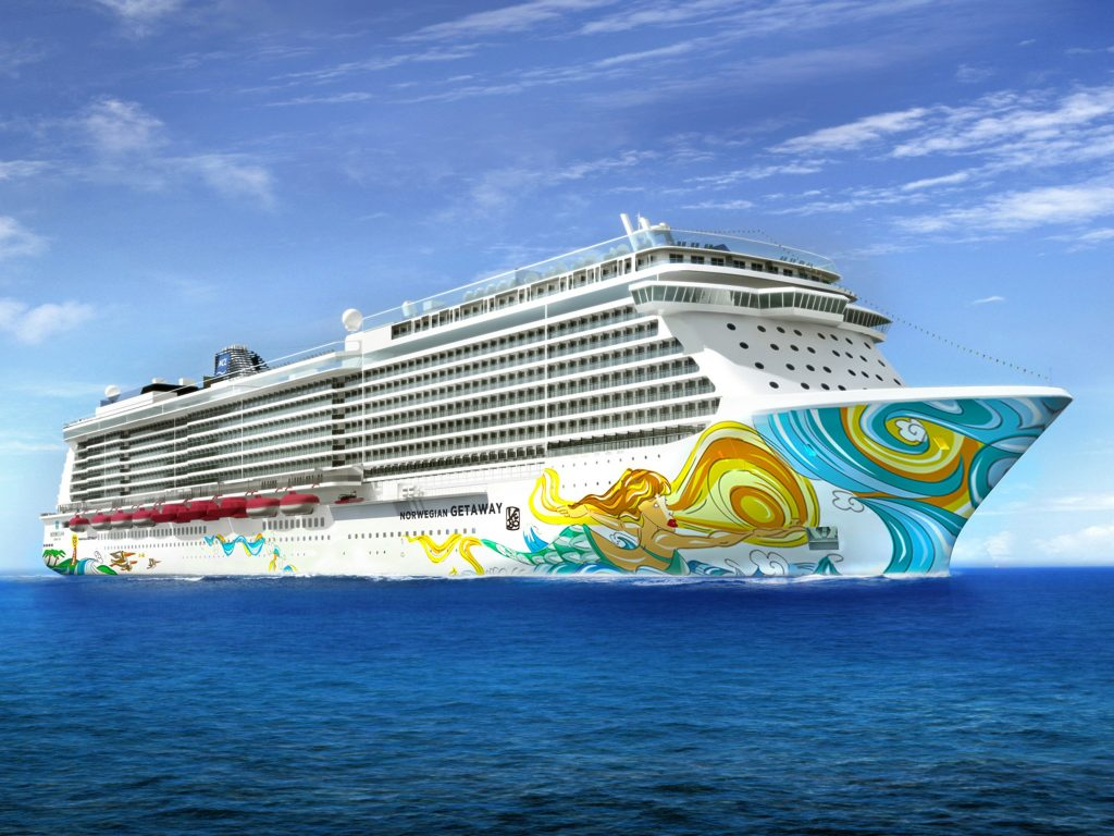 Norwegian Cruise Line Provides First Look At The New