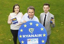Ryanair presenta su plataforma para Erasmus