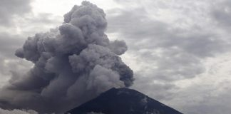 The airport has been closed since Monday due to volcanic ash.