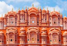 Jaipur (India), conocida como 'La Ciudad Rosa'