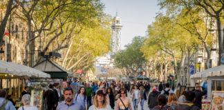 El gasto de los turistas en Cataluña durante el mes de noviembre se redujo un 4'2%