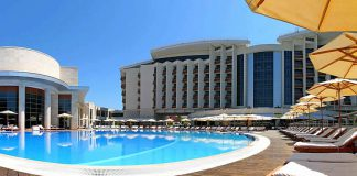 The room prices at Kempinsky Grand Hotel Gelendzhik were up 30%