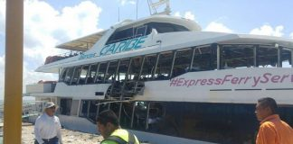Suben a 24 los heridos por explosión de un barco en Playa del Carmen, México