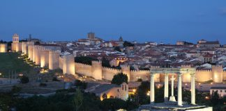 Ávila cuenta con Plan Iluminación Ornamental que recupera el skyline nocturno