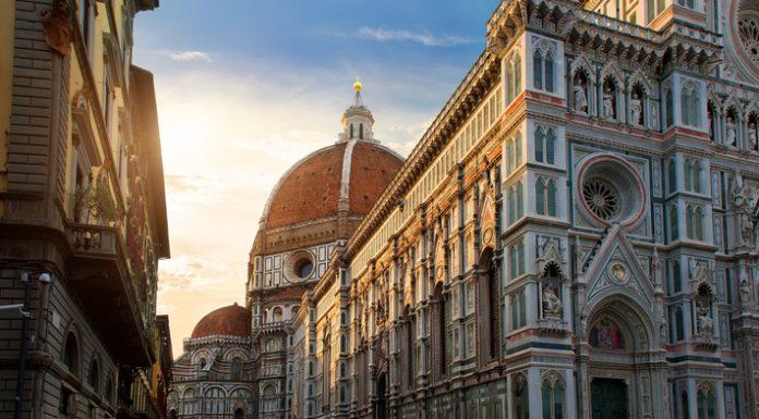 La catedral de Santa María en Florencia.