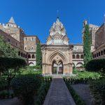 La Abadía de Guadalupe en Cáceres, Extremadura.