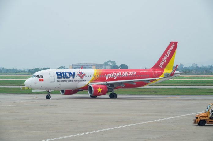The plane was an Airbus A321 jet, delivered to VietJet two weeks ago on November 15.
