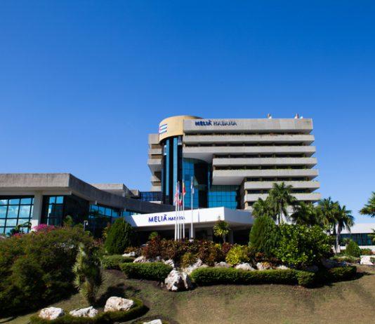 Un hotel de la cadena Meliá en La Habana, Cuba.