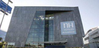 Vista de un hotel de 4 estrellas la cadena NH.