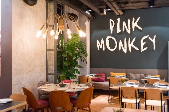 Restaurante Pink Monkey en Madrid