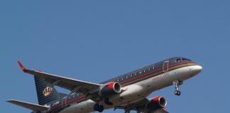 Image of a jet of Royal Jordanian
