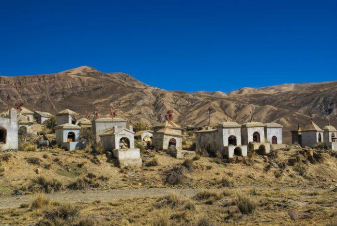 A cementery in Los Andes, Bolivia.