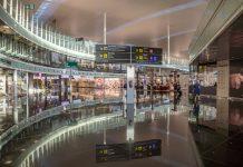 Imagen de la terminal 1 del aeropuerto de Barcelona.