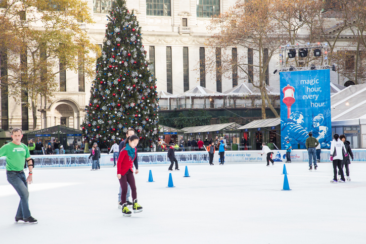 Bryant Park NYC Skating