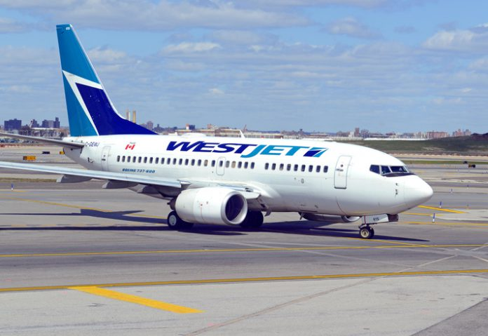 WestJet said it expects cost per available seat mile (CASM) excluding fuel, to be flat or rise by about 2 percent next year, as it introduces the Boeing 787 Dreamliner.