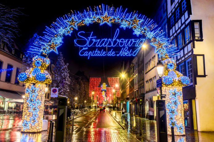 The attack was carried out at the Christmas market in the eastern city of Strasbourg