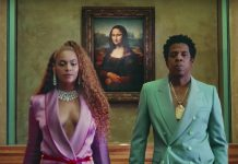 "The Louvre said it was happy at the response to the video by Beyonce and her husband Jay-Z for the song ""APES**T"" i"