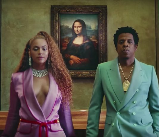 """The Louvre said it was happy at the response to the video by Beyonce and her husband Jay-Z for the song """"APES**T"""" i"""