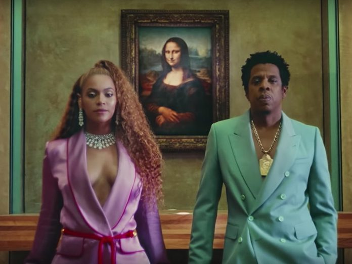 The Louvre said it was happy at the response to the video by Beyonce and her husband Jay-Z for the song