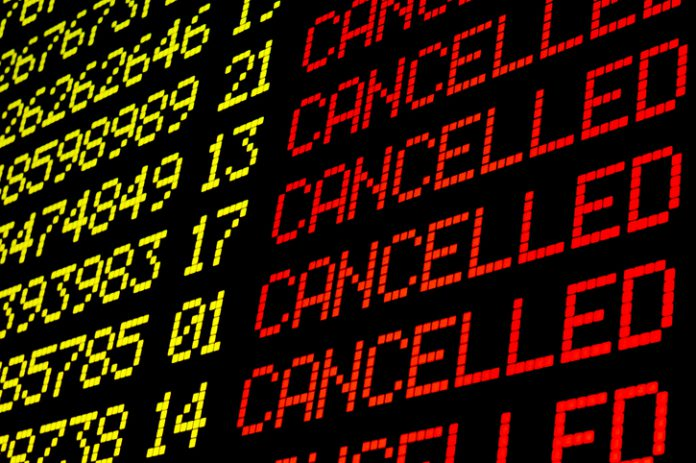 Several major airlines waived fees for changing or rebooking flights.