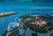 Singapore saw a 6.2 percent rise in travellers in 2018 from the year earlier