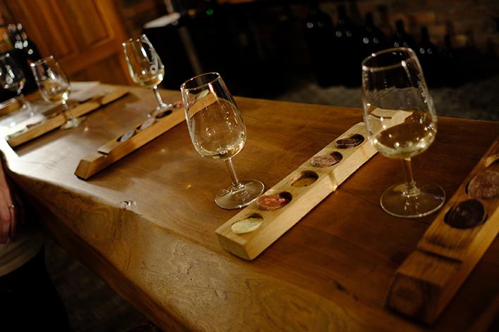 cata de vino Sudáfrica