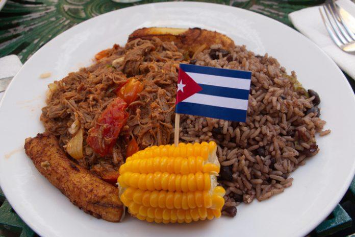 RopaVieja uno de los platos tradicionales cubanos