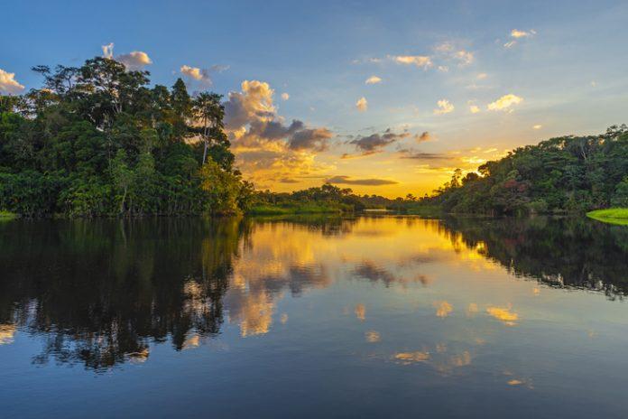 Puesta-de-sol-norte-de-pure-amazonas